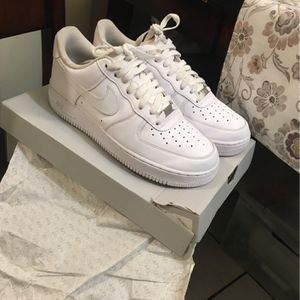 All White Air Force Sz 9.5 for Sale in Carson, CA