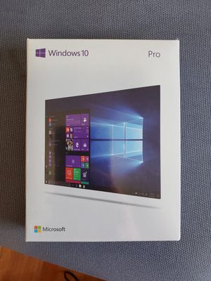 NEW Windows 10 pro 32 bit / 64 bit usb and key card for Sale in Los Angeles, CA