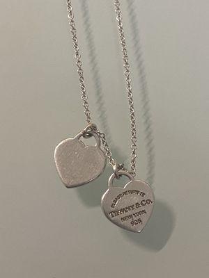 Tiffany & Co. Mini Double Heart Tag Pendant for Sale in Chula Vista, CA