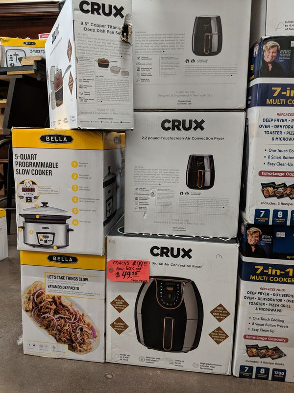 Dyson vacuums, Instant Pots, Air fryers, Roomba Robot