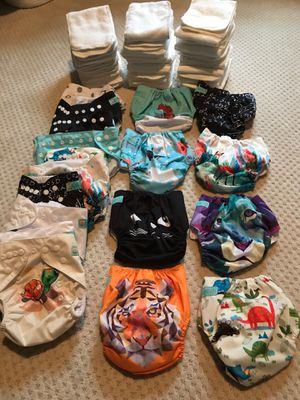 Alva baby reusable cloth diapers for Sale in Graham, WA