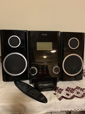 TEAC Micro Hi-Fi Stereo System for Sale in Bristow, VA