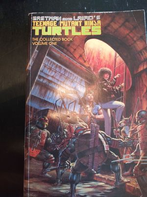 Teenage ninja turtle collectable book volume one rare book for Sale in Columbus, OH
