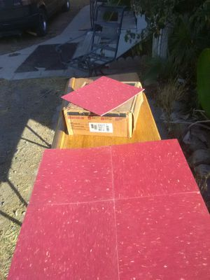 """Armstrong """"Excelon"""" floor tile for Sale in Wildomar, CA"""