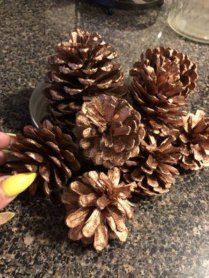 Cooper colored pine cones. for Sale in Virginia Beach, VA