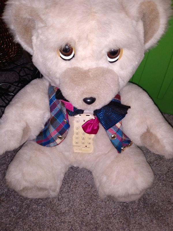 Teddy bear phone