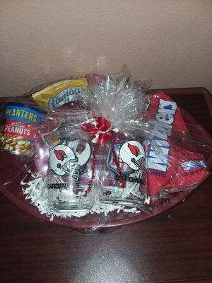 Arizona Cardinals Gift Basket for Sale in Jurupa Valley, CA