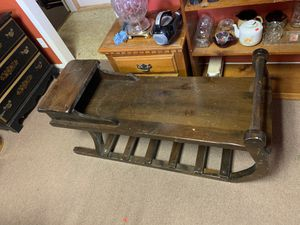 Deluxe Sleigh Coffee Table for Sale in Phillipsburg, NJ