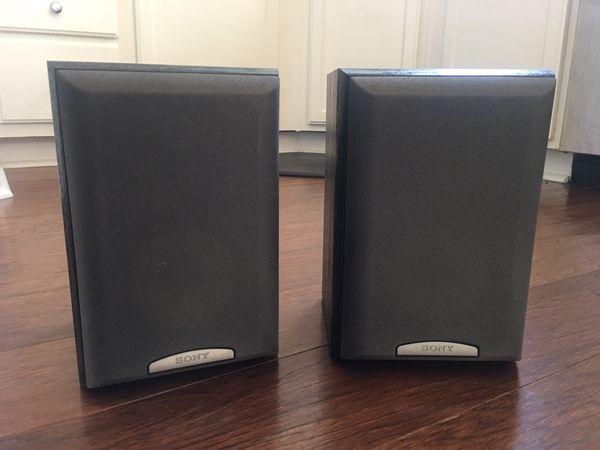 Sony Bookshelf Speakers