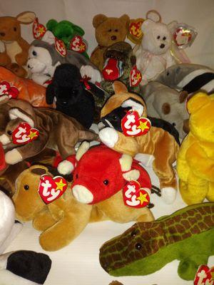 Rare error tag beanie babies retired for Sale in Dearborn, MI