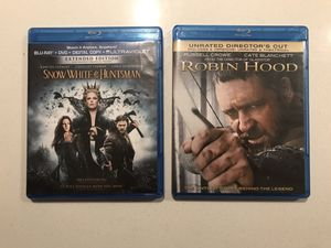 Snow White and the Huntsman, Robin Hood bundle for Sale in Aurora, CO