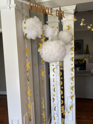 Birthday party/ baby shower decorations for Sale in Greensboro, NC