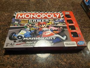 Monopoly Gamer Mario Kart Board Game for Sale in Reading, PA