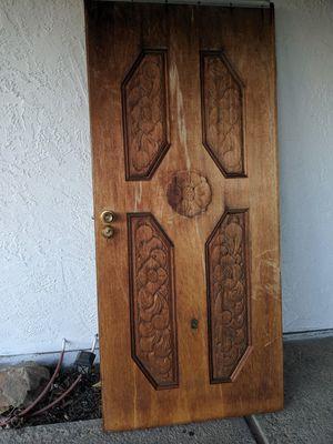 Solid wood door for Sale in Manteca, CA