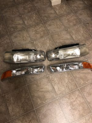 2003 Chevy tahoe headlights for Sale in Stockton, CA