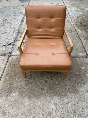 Modern Brown Wood Arm Chair for Sale in Queens, NY