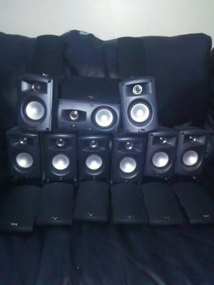 9 Klipsch speakers for Sale in Sebring, FL