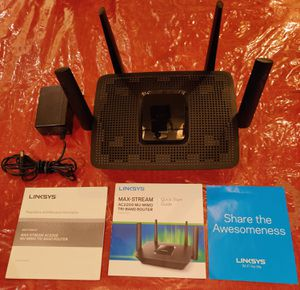 Linksys AC2200 MU-MIMO Tri-Band Router for Sale in San Antonio, TX