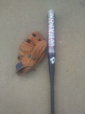 Softball Glove & Softball Bat for Sale in Wilmington, CA