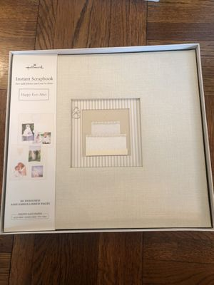 Hallmark Instant Wedding Scrapbook for Sale in Washington, DC