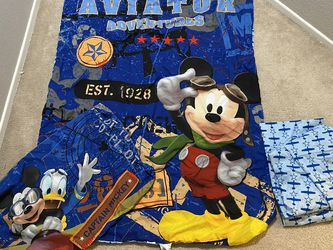 Disney Mickey Mouse Toddler Bed Bedding for Sale in Winchester,  CA
