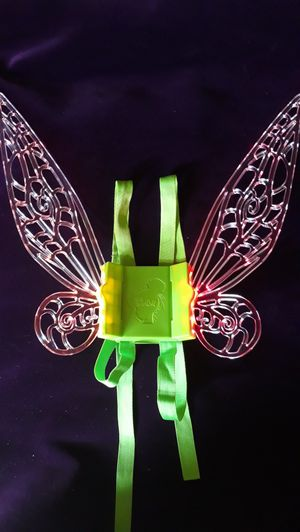 Tinkerbell glow wings, New open pkg. Unused multiple available. for Sale in Montclair, CA