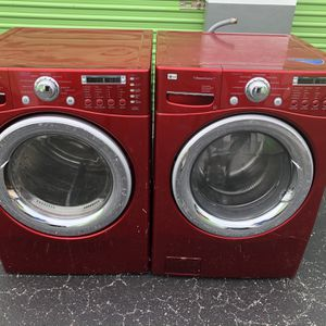 Washer And Dryer Excellent Condition Warranty for Sale in Miami, FL