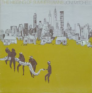 First pressing The Hissing of Summer Lawns (1975, Asylum) vinyl album Joni Mitchel NYC cover for Sale in San Diego, CA