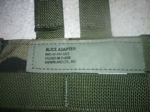 US Army / Alice Adapter for Sale in Barboursville, WV