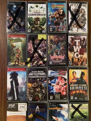 Playstation PSP games for Sale in Tampa, FL