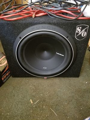 Rockford fosgate sub speaker and amp for Sale in Columbia, VA