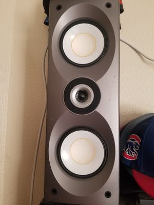 Vintage onkyo Speakers with Grills. $60 Pickup in Oakdale for Sale in Valley Home, CA