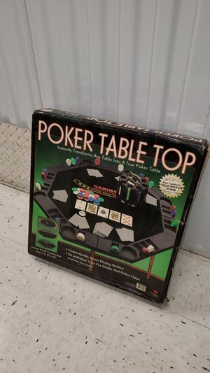 Poker Table Top Set for Sale in Chicago, IL