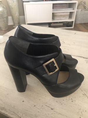 Michael Kors platform black heels Brand new Size 7 M for Sale in Matthews, NC
