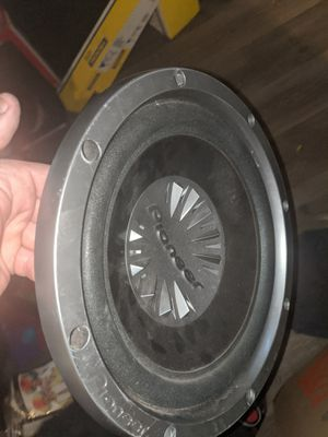 12 inch pioneer subwoofer voice coil stopped working out of nowhere! FREE for Sale in Portland, OR