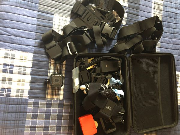 GoPro Hero5 Session with case and accessories