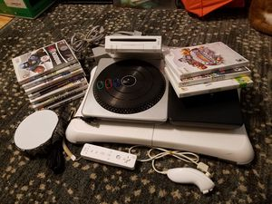 Nintendo wii+ accessories +10games works great for Sale in Tampa, FL