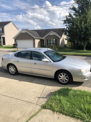 I have this 2005 Buick LaCrosse with 114,000 miles, really clean inside and outside clean title never been crashed or trade for little truck for Sale in Nashville, TN