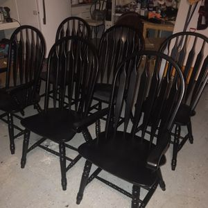 Six Dining Chairs for Sale in Shelton, CT