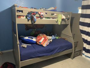 Twin over full bunk bed for Sale in Spring Hill, FL