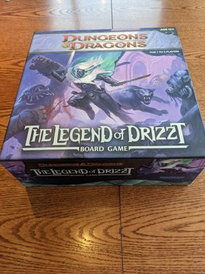 D&D The Legend of Drizzt Board Game for Sale in Evergreen, CO