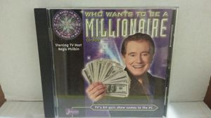 Who Wants to be a Millionaire CD ROM Game for Sale in Riviera Beach, FL
