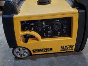 Champion 3100 Watt generator for Sale in Fresno, CA