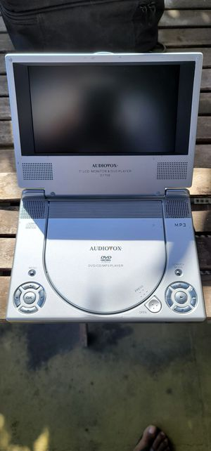 "Audiovox D1708 Portable (7"") LCD Monitor DVD/CD Player for Sale in Los Angeles, CA"
