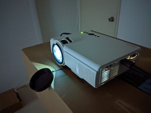 Watching movies on big screen! 2000 lumens home projector! Brand new! for Sale in Palos Verdes Estates, CA