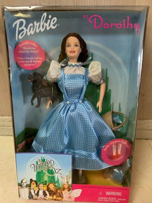 Vintage but NEW: Mattel Barbie Wizard of Oz Collection 5 Figures for Sale in Torrance, CA