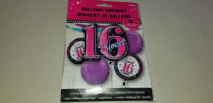 New sweet 16 balloon bouquet for Sale in San Diego, CA