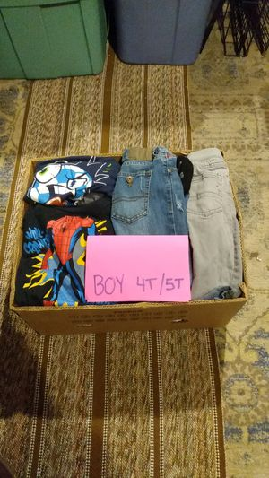 Boys clothes ( size 4T/5T) 50+ pieces for Sale in Riverside, CA