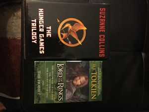 Hunger Games/Lord of the Rings Book sets for Sale in Sunnyvale, CA