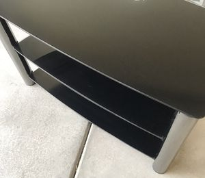Glass TV Stand / Entertainment Center for Sale in North Las Vegas, NV